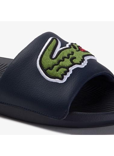 Lacoste Erkek Croco Slide Terlik 739CMA0062.2S3 Mavi